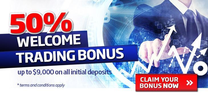 Broker forex bonus 50