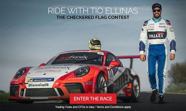 HOTFOREX Racing Contest with TIO ELLINAS