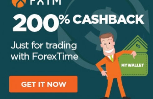 200% Cashback Rebate to Trade with ForexTime