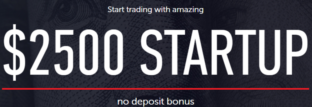 $2500 START UP No Deposit Bonus INSTAFOREX