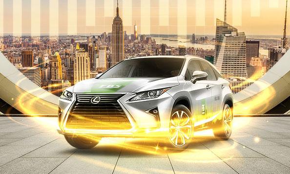 lexus car fbs promo