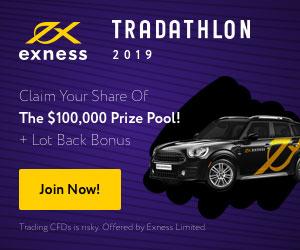 Exness Tradathlon forex Contest