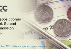 200% Deposit Bonus Limited Time FXCC Promotion