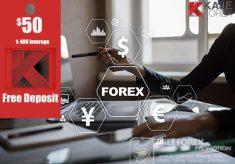 Kaje Forex $50 No Deposit Bonus