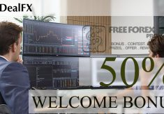 DealFX $ 50 Welcome Bonus