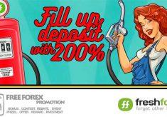 FreshForex 200% deposit bonus