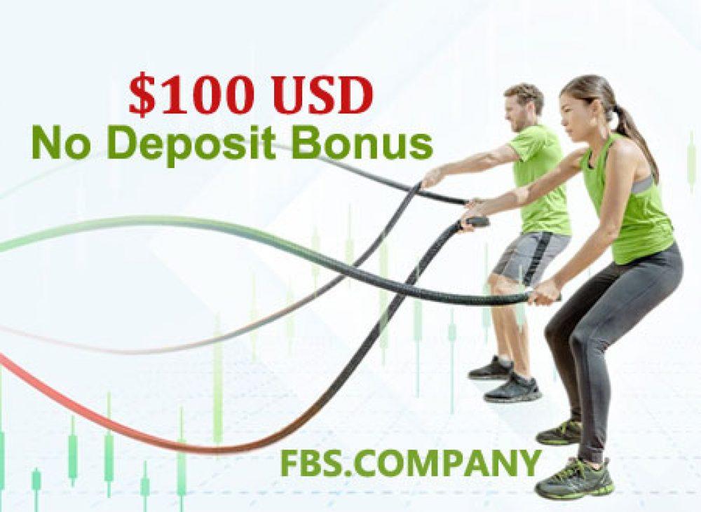100 USD No Deposit FBS Bonus