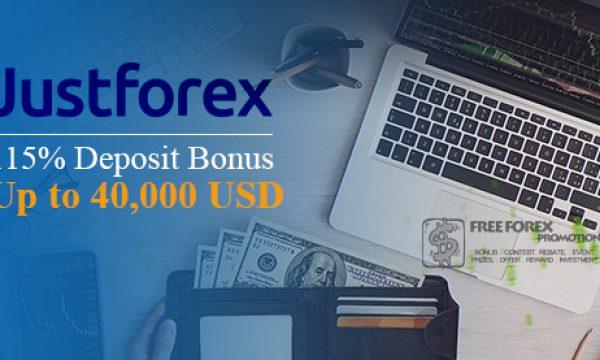 JustForex 115% Deposit Bonus