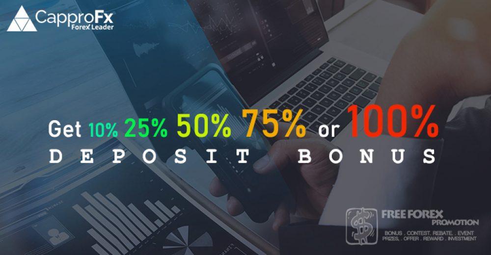 CapproFX 100% Margin Deposit Bonus