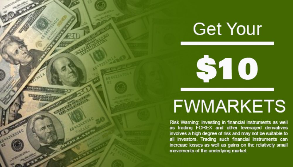 FW Markets 10$ Live Welcome Bonus
