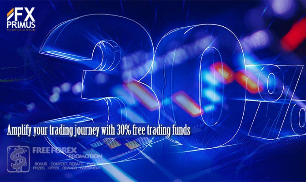 FXPrimus 30% Trading Bonus