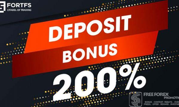 FortFS Deposit Bonus 200%