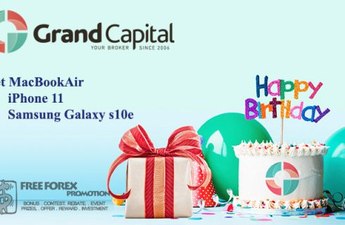 Grand Capital Anniversary  Promotion