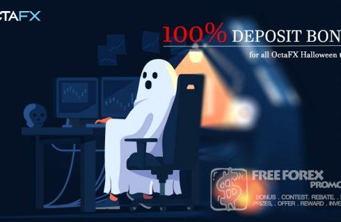 OctaFX 100% Deposit Bonus