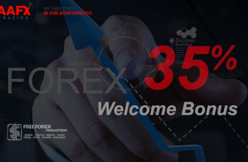 AAFX Trading 35% Welcome Bonus