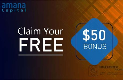 Amana Capital $ 50 welcome trading bonus