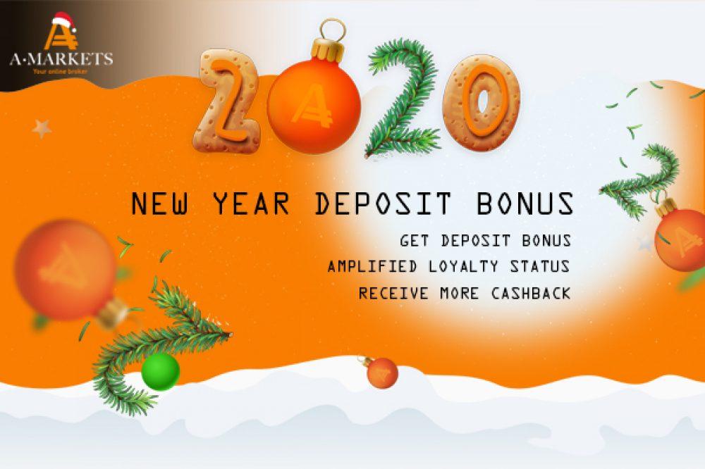AMarkets New Year Deposit Bonus