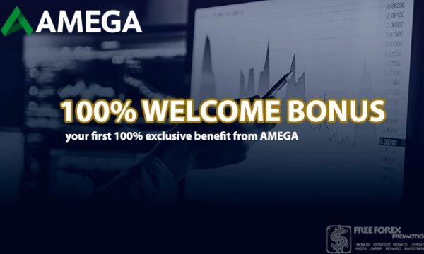 Amega 100% WELCOME BONUS