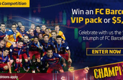 FC Barcelona VIP Pack Demo Contest