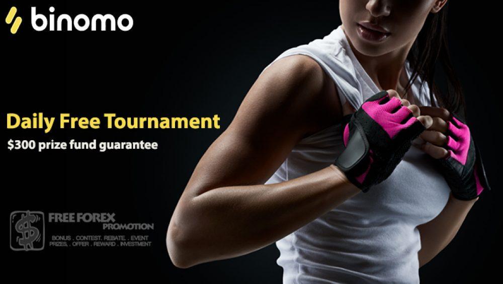 Binomo Daily Free Tournament