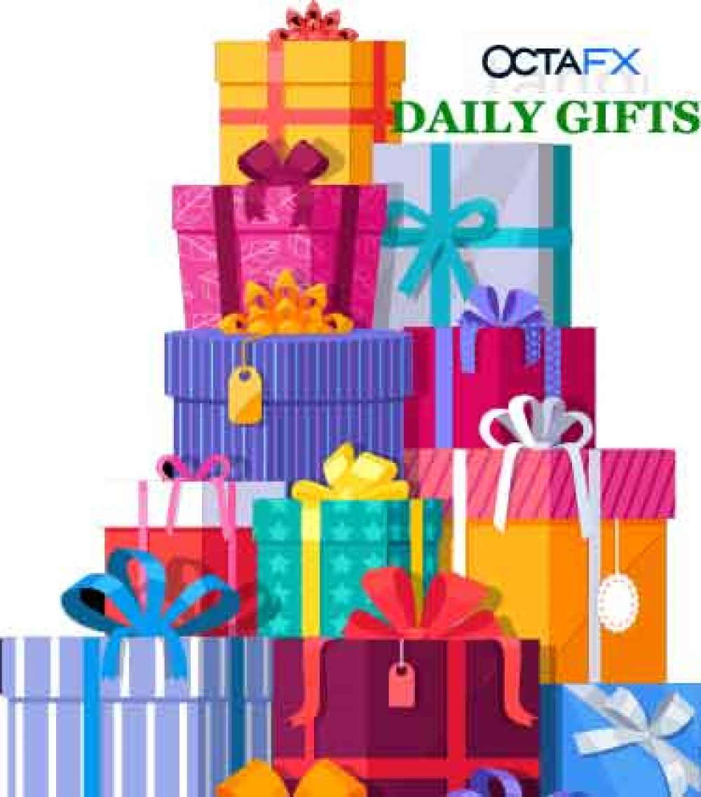 Every Day Gift For OCTAFX December Promo