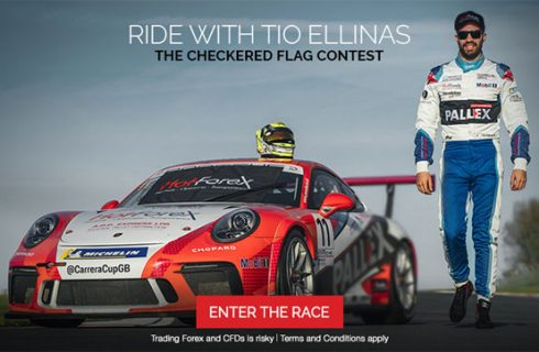 HOTFOREX Racing Contest with TIO ELLINAS