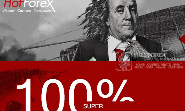 HotForex 100% Super Charged Bonus