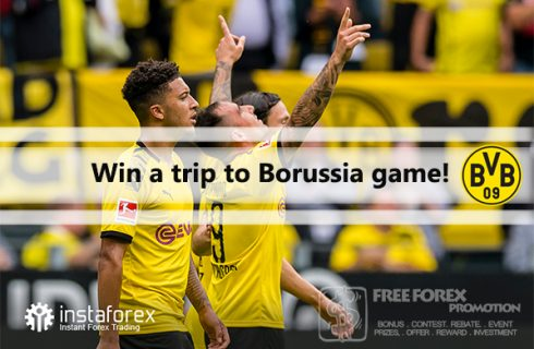 Instaforex Win a trip to Borussia game