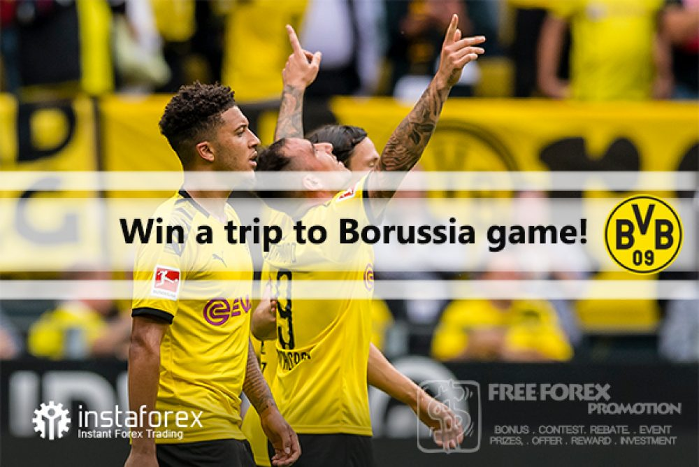 Instaforex Win a trip to Borussia game