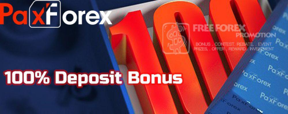 PaxForex 100% Loyalty Deposit Bonus