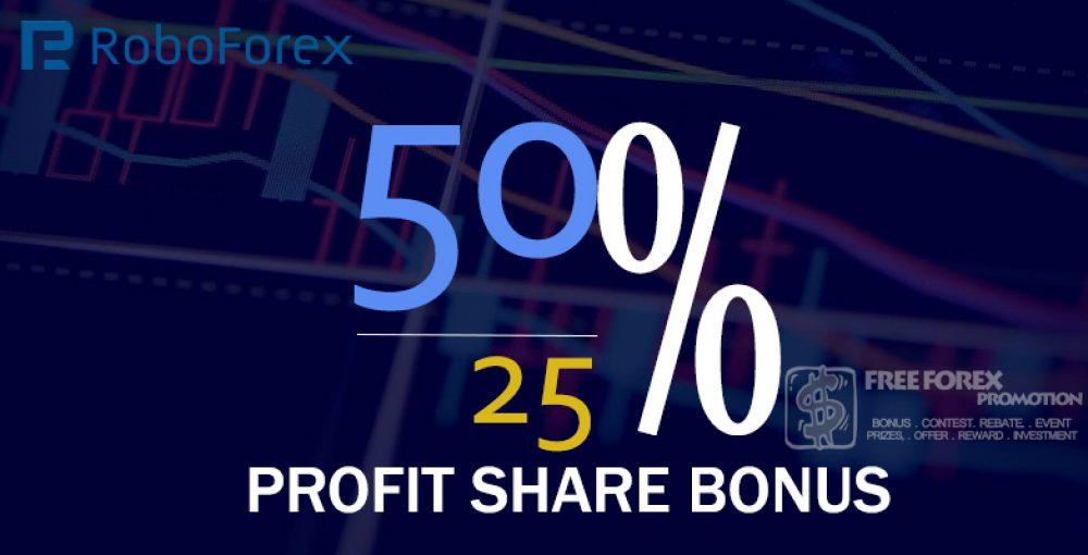 RoboForex Profit Share Bonus