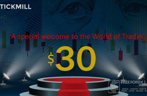 Special Tickmill $ 30 Welcome Account