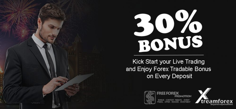 XtremeForex 30% Tradeable Bonus